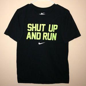 Nike T-Shirt Shut Up and Run